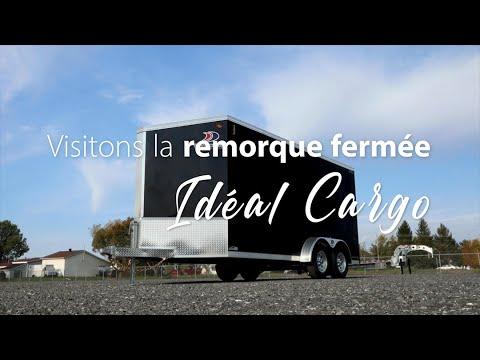 Visitons la remorque Idéal Cargo AV716TA3 Sport Zone