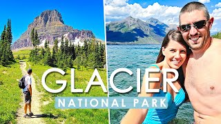 GLACIER NATIONAL PARK Vlog | Hiking | Going to the Sun Road | Montana