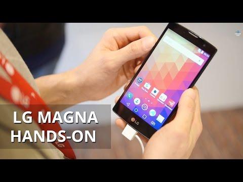 LG Magna hands-on