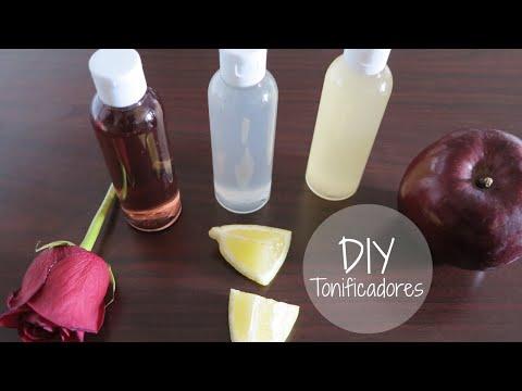 DIY Tonificadores Faciales Naturales | Rosas + Limón + Vinagre