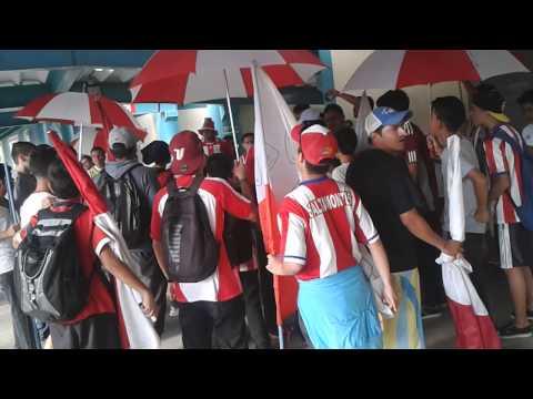 """""""Previa de la Barra Los Saltamontes vs Zulia 23-11-14"""" Barra: Infierno Akademico • Club: Estudiantes de Mérida"""