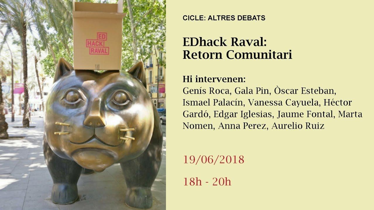 EDhack Raval: Retorn Comunitari