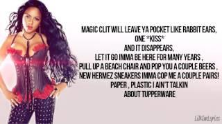 Lil' Kim - Cop That Shit Freestyle (Lyrics Video) HD
