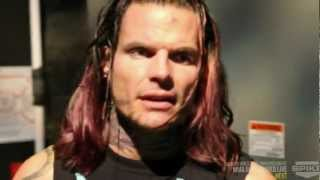 Jeff Hardy Backstage Before Fatal 4 Way TNA IMPACT