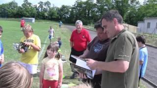 preview picture of video 'Dětská dokopná 2011 SK Roztoky'