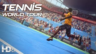 TENNIS : World Tour - NEW Official Game Launch Trailer 2018 (PC, PS4 & XB1) HD