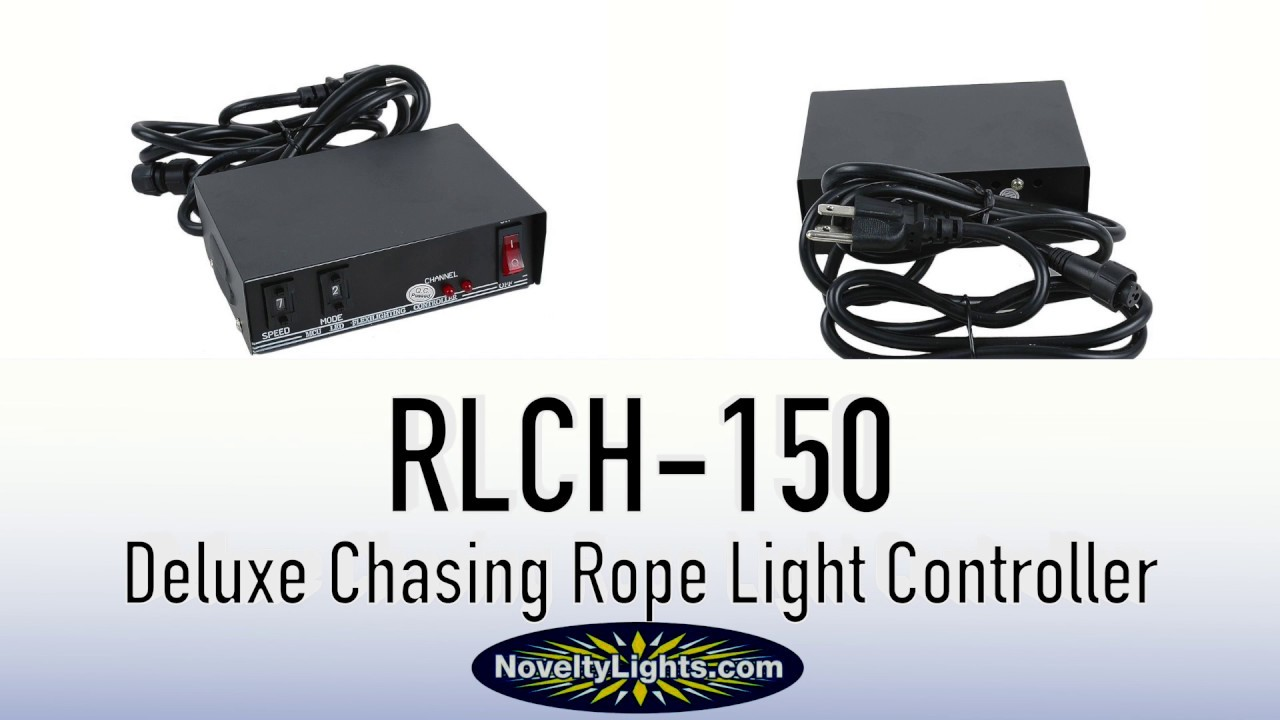 Picture of Deluxe Chasing Rope Light Controller 3-Wire 1/2""