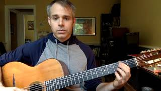 Learn the guitar fretboard - (Lesson 1)