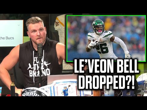 Pat McAfee Reacts To Le'Veon Bell Being Dropped By The Jets