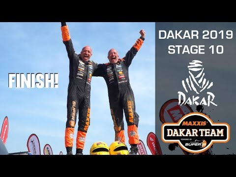 FINISH final stage Dakar 2019 The Beast Tim and Tom Coronel