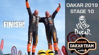 FINISH final stage Dakar 2019 The Beast Tim and Tom Coronel