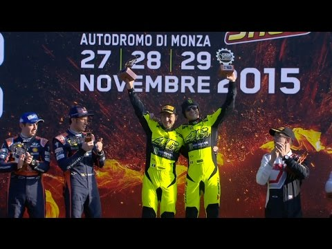 Valentino Rossi vince il Monster Energy Monza Rally Show 2015
