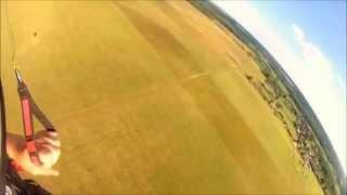 preview picture of video 'HISTORYCZNE SZKOLENIE PARALOTNIOWE W GMINIE ORZYSZ 3 7 07 2014'