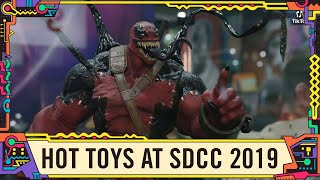 Venompool and other stunning Marvel Hot Toys at SDCC 2019!