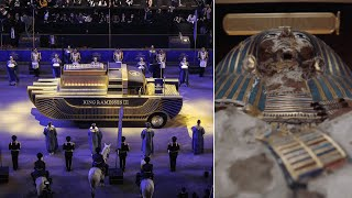 video: Egyptian mummies parade through Cairo in ancient rulers procession