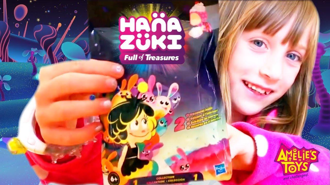 HANAZUKI Surprise Treasures Series 1 Blind Bag and Moodgleam wearable band