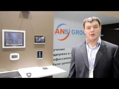 Новая сенсорная панель для &кваот;умного дома&кваот; ХИ-ТЕКХ БУИЛДИНГ - 2013