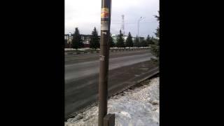 Кортеж Юнус-бека Евкурова в Магасе