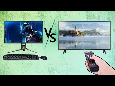 What's the Difference Between Monitors and TVs?