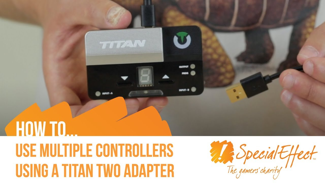 video placeholder for How to Use Multiple Controllers Using a Titan Two Adapter | How To... Video