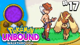 Pokemon Unbound Walkthrough Ep 17 - FALLSHORE CITY INVERSED GYM BATTLE + Unlocking HM STRENGTH!