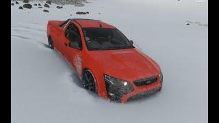 Atascado En La Nieve - Ford FPV Limited Edition Pursuit UTE 2014 - Forza Horizon 4 1 Test Drive