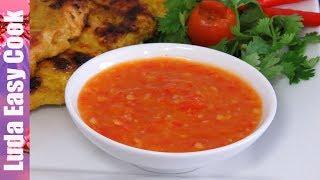 ВКУСНЫЙ ТАЙСКИЙ СОУС к Мясу Рыбе и Овощам Соус для гриля |SAUSE BBQ Recipes