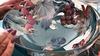 Vivecas Decoupage On Glass