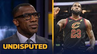 Shannon Sharpe reacts after LeBron, Cavaliers defeat the Pacers in Game 7 | NBA | UNDISPUTED