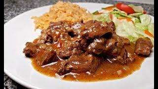 CARNE GUISADA RECIPE   Tex Mex Beef Stew Recipe   Easy Carne Guisada Recipe
