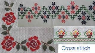Dusutti Design | Cross Stitch Pattern | Border Designs, Center Designs, Corner Designs