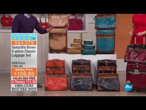 HSN | Samantha Brown Holiday Travel 12.11.2016 - 04 PM