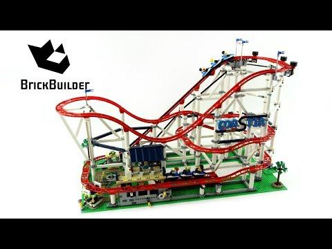Vidéo LEGO Creator 10261 : Les montagnes russes