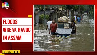 Over 32 Lakh People Affected as Flood Situation Worsens in Assam; Death Toll Rises to 80 - Download this Video in MP3, M4A, WEBM, MP4, 3GP