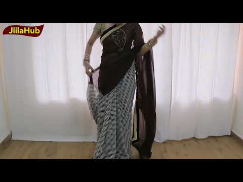 How To Wear Half & Half Saree To Look Elegant | Superb Saree Draping Tutorial 2017 Mp3
