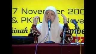 Hajjah Irene Handono  Strategi Pemurtadan Ummat Islam