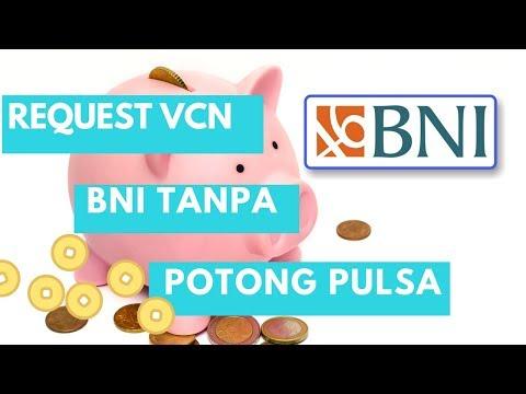Cara memakai VCN BNI tanpa memotong pulsa
