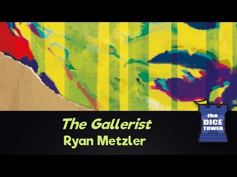 Dice Tower Reviews: The Gallerist - w/ Ryan Metzler
