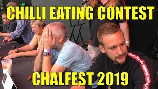 Chalfest 2019 - Chilli Eating Contest