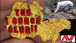 MASSIVE AUSSIE GOLD!! Beautiful Nugget found Metal Detecting w/Minelab GPZ7000