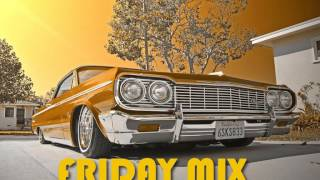 FRIDAY GANGSTA RAP G-FUNK HIP HOP MIX!!