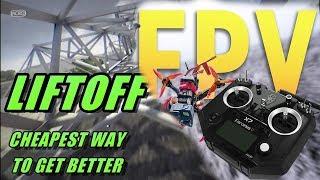 FPV Day 1 /Liftoff/ Chill trap music stream