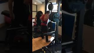 250kg squat