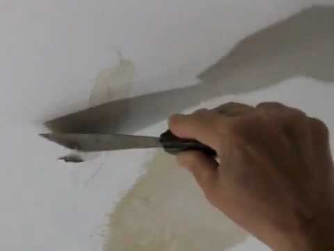 How To Repair A Water Damaged Plaster Ceiling Mp3