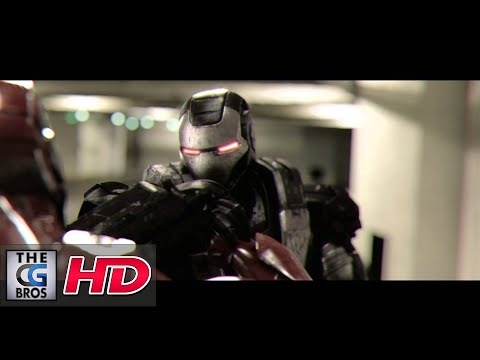 "CGI & VFX Animated Shorts : ""Ironman vs. Warmachine"" – by Julian Fitzpatrick"