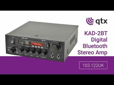 103.122UK: KAD-2BT Digital Stereo Amplifier with Bluetooth