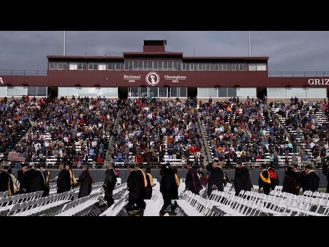 University of Montana Commencement 2016