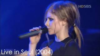 Avril Lavigne - Losing Grip through the years
