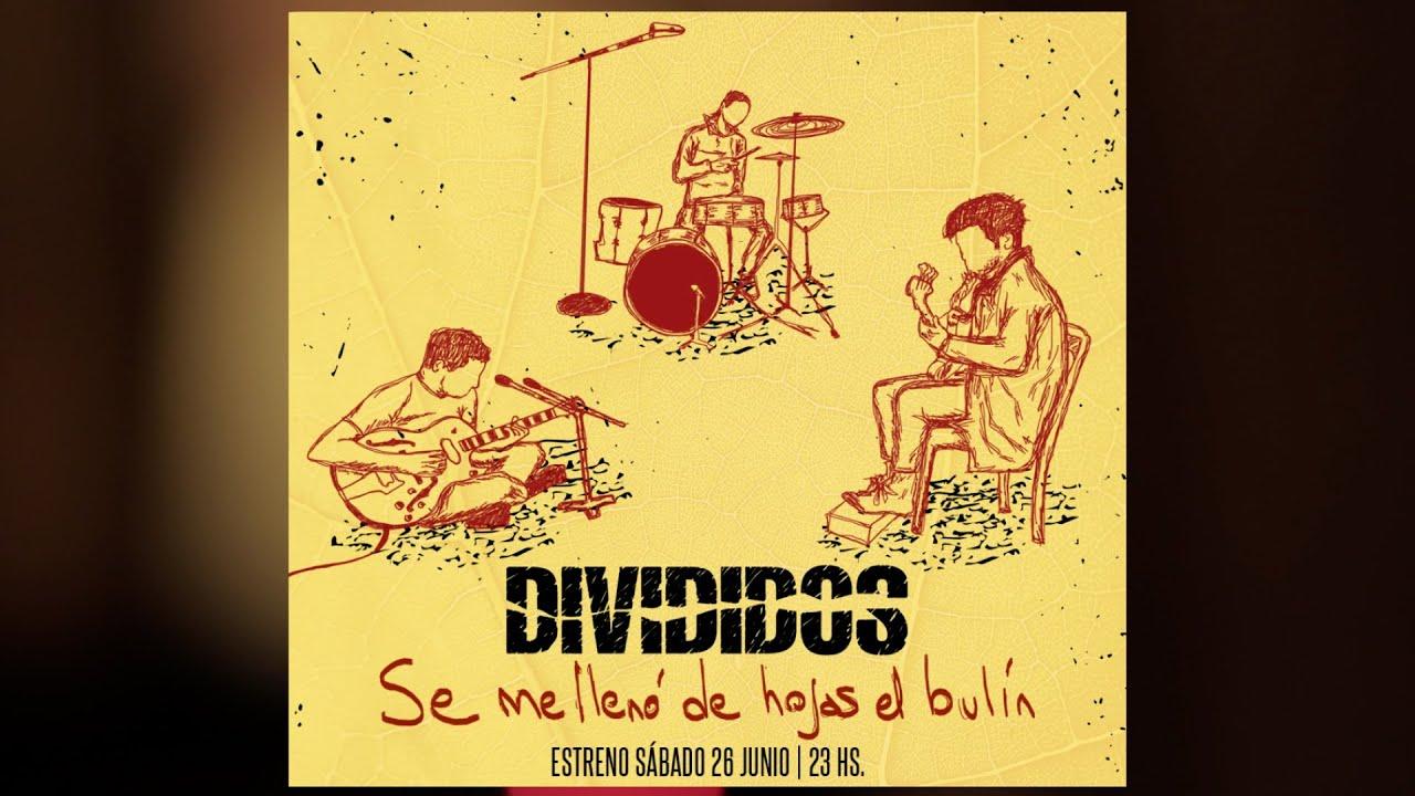 """Divididos festejo sus 33 años con un mini concierto virtual """"Se me llenó de hojas el bulín"""""""