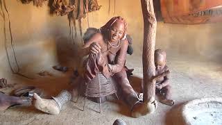 Visiting A Himba Village  Namibia Himbadorp Nabij Opuwo, Namibië FAHAMU KABILA LA HIMBA
